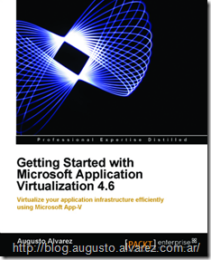 App-V Book Published and Sample Chapter Available for