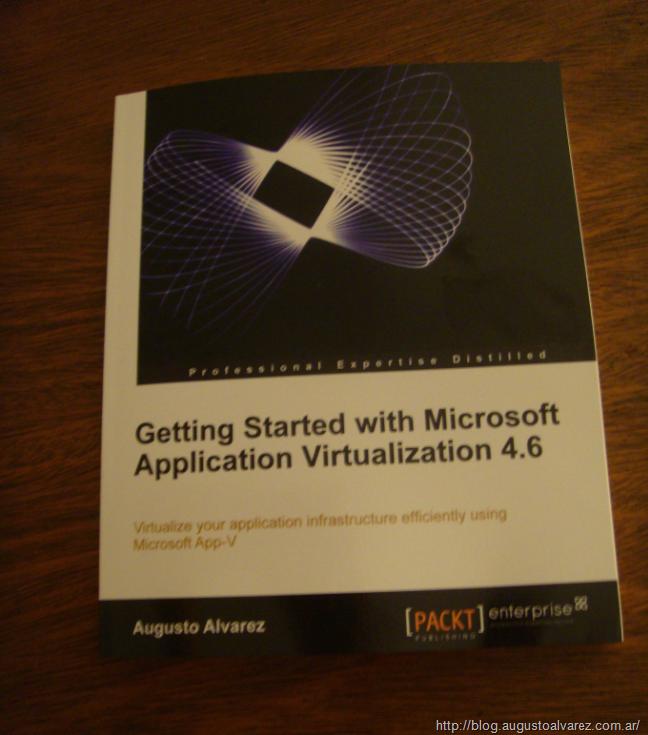 App-V Book Giveaway! – Augusto Alvarez